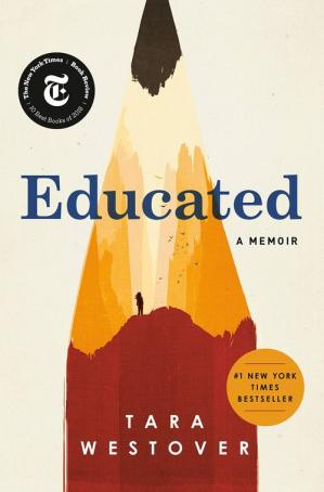A capa do livro Educated: A Memoir
