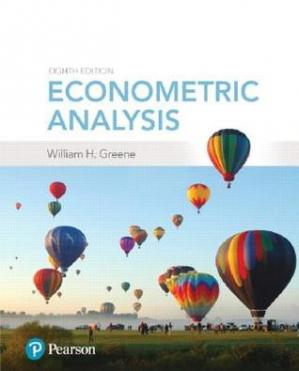 Sampul buku Econometric Analysis