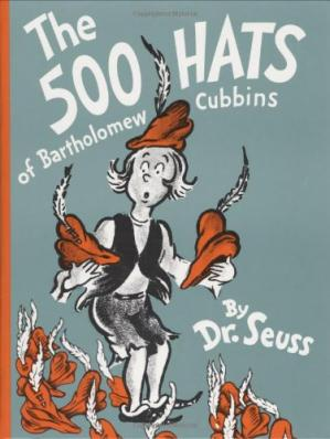 Book cover The 500 Hats of Bartholomew Cubbins