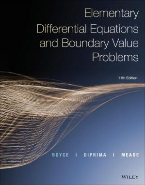Buchdeckel Elementary Differential Equations and Boundary Value Problems