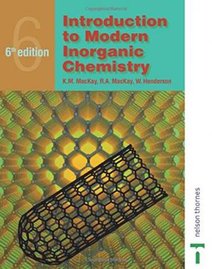 Book cover Introduction to Modern Inorganic Chemistry