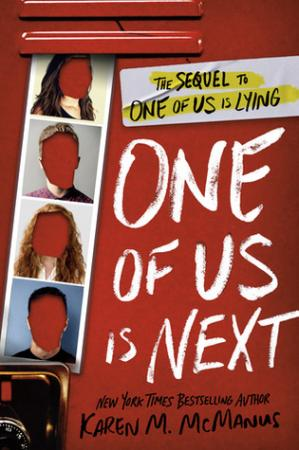 Book cover One of Us Is Next
