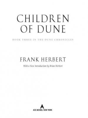 Book cover Children of Dune