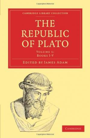 Portada del libro The Republic of Plato