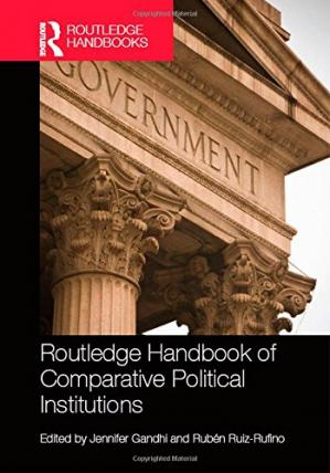 Okładka książki Routledge Handbook of Comparative Political Institutions