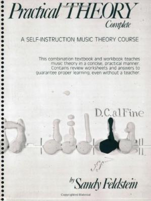 Buchdeckel Practical theory complete a self-instruction music theory course