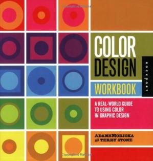 Book cover Color Design Workbook: A Real World Guide to Using Color in Graphic Design