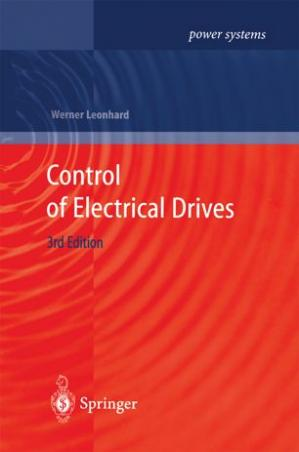 Book cover Control of Electrical Drives