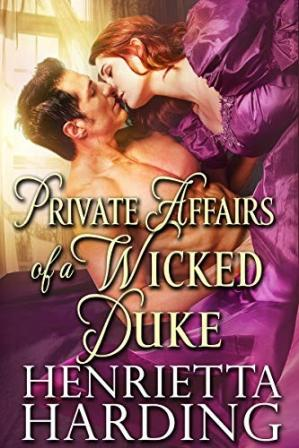 Book cover Private Affairs of a Wicked Duke