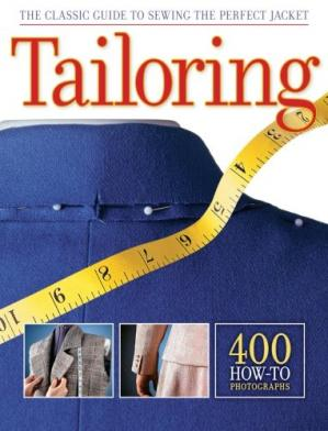 A capa do livro Tailoring: The Classic Guide to Sewing the Perfect Jacket