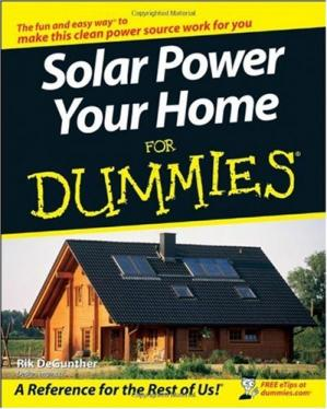 Book cover Solar Power Your Home For Dummies