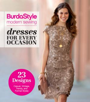 A capa do livro BurdaStyle Modern Sewing - Dresses For Every Occasion