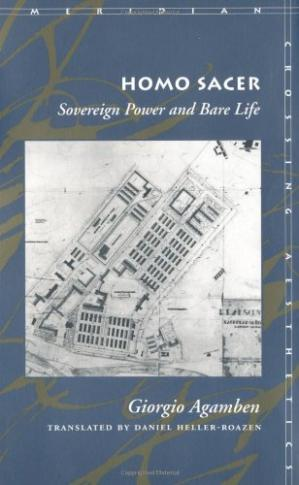Buchdeckel Homo Sacer: Sovereign Power and Bare Life