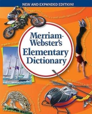 Book cover Merriam-Webster's Elementary Dictionary