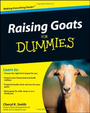 Book cover Raising Goats For Dummies