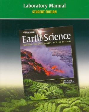 Book cover Earth Science. Geology, the Environment, and the Universe