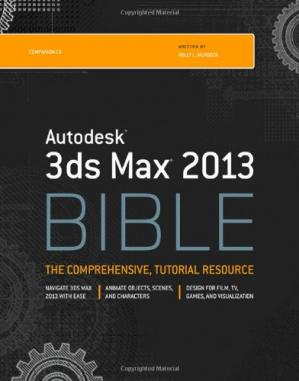 Book cover Autodesk 3ds Max 2013 Bible