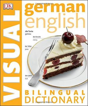 Buchdeckel German - English Bilingual Visual Dictionary