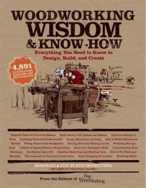 Обкладинка книги Woodworking Wisdom & Know-How: Everything You Need to Know to Design, Build, and Create