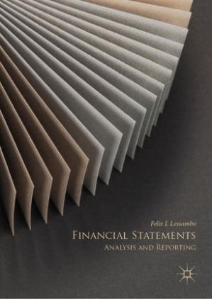 Book cover Financial Statements: Analysis and Reporting