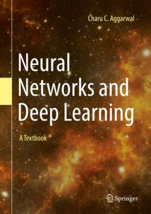A capa do livro Neural Networks and Deep Learning: A Textbook
