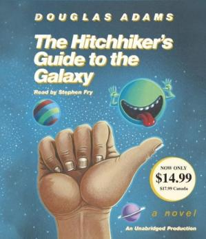 表紙 Hitchhiker's Guide to the Galaxy