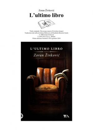 Book cover L'ultimo Libro