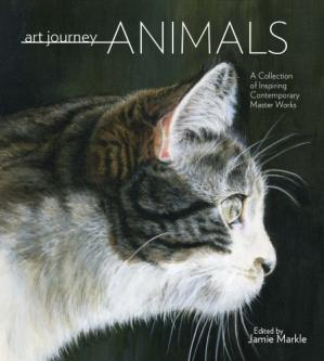Book cover Art Journey Animals: A Collection of Inspiring Contemporary Masterworks
