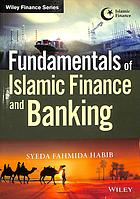 Book cover Fundamentals of Islamic finance and banking