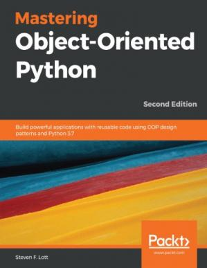 Book cover mastering object-oriented python