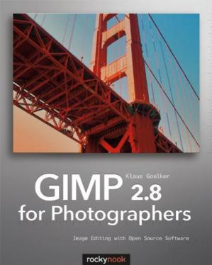 Book cover GIMP 2.8 for Photographers: Image Editing with Open Source Software