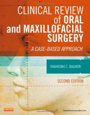 पुस्तक कवर Clinical Review of Oral and Maxillofacial Surgery: A Case-based Approach, 2e