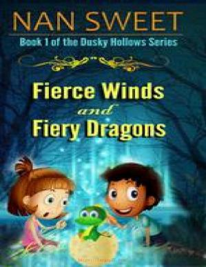 Обложка книги Fierce Winds and Fiery Dragons (Dusky Hollows)