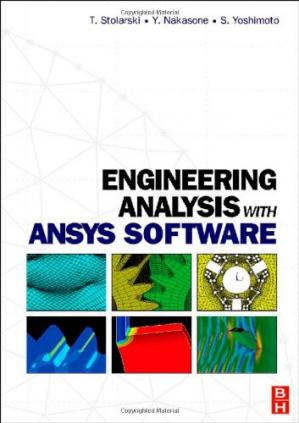 Book cover Engineering Analysis with ANSYS Software