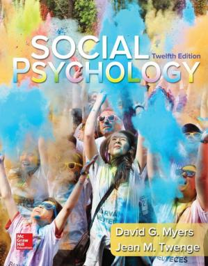 Book cover Social Psychology 12th Edition