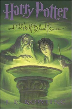 书籍封面 Harry Potter and the Half-Blood Prince