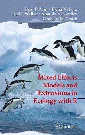Εξώφυλλο βιβλίου Mixed Effects Models and Extensions in Ecology with R