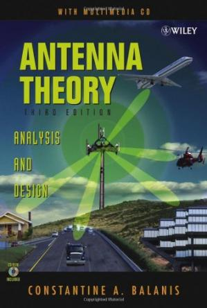 Okładka książki Antenna Theory: Analysis and Design, 3rd Edition