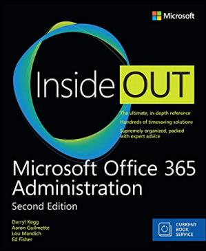 Copertina Microsoft Office 365 Administration Inside Out (Includes Current Book Service) (2nd Edition)