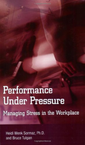 Book cover Performance under pressure: managing stress in the workplace
