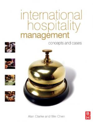 Book cover International Hospitality Management: concepts and cases