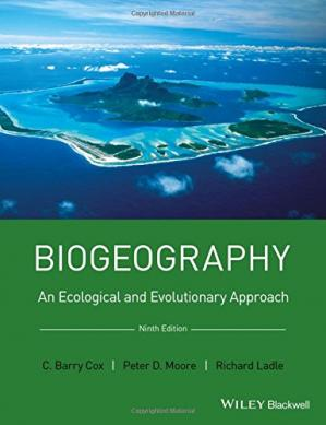 Εξώφυλλο βιβλίου Biogeography: an ecological and evolutionary approach