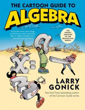 A capa do livro The Cartoon Guide to Algebra
