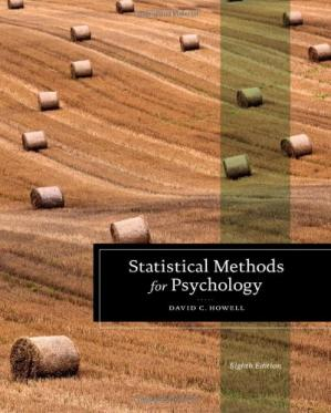Book cover Statistical Methods for Psychology