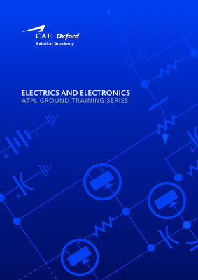 Copertina CAE Oxford Aviation Academy. ATPL Book 3 Electrics and Electronics