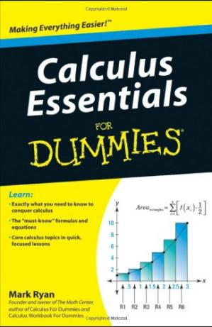 Book cover Calculus Essentials For Dummies (For Dummies (Math & Science))