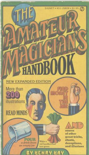 Book cover The Amateur Magician's Handbook