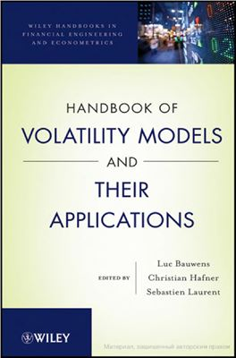 Book cover Handbook of Volatility Models and Their Applications