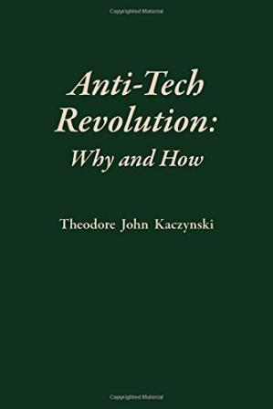 Book cover Anti-Tech Revolution: Why and How