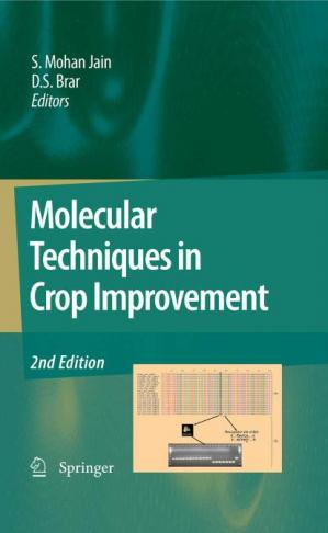 Book cover Molecular Techniques in Crop Improvement, 2nd Edition
